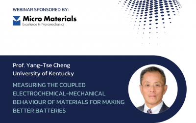 Measuring the coupled electrochemical-mechanical behaviour of materials for making better batteries